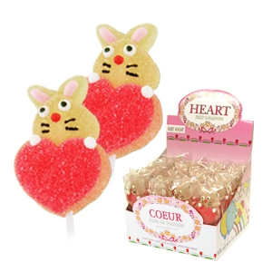 Picture of Jelly Rabbit w/Heart